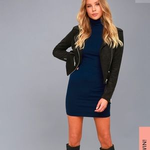 Lulus phenomenal feeling turtleneck dress